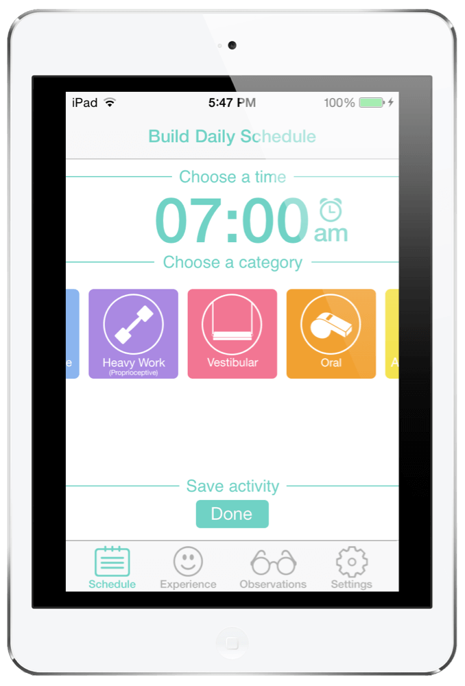 SensoryTreat App